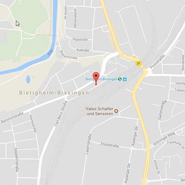 Standort bei Google Maps